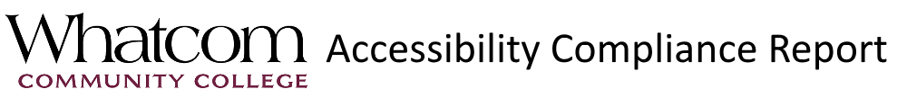 Accessibility Compliance Report Logo